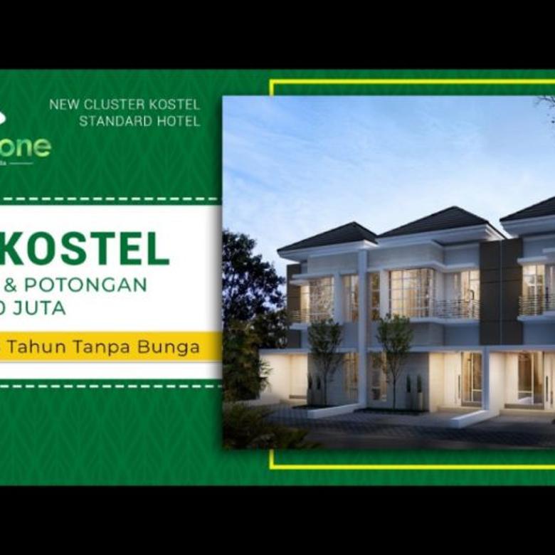 Rumah kos standart hotel free perabot cashback hingga 200 juta