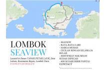 Dijual Lahan Luas Sangat Strategis di Bayan Lombok