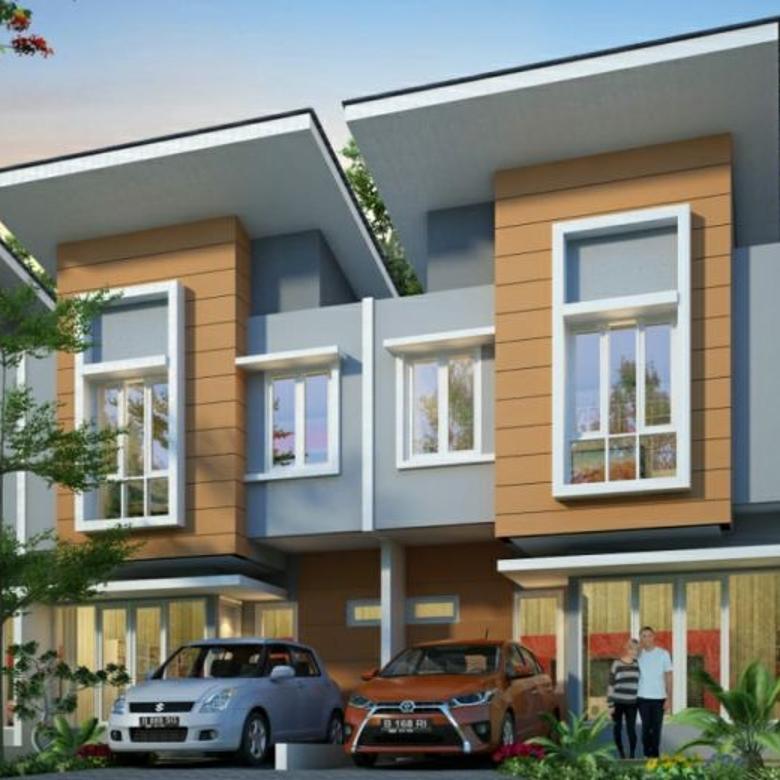 Rumah 2 lt perbatasan Tangerang Jakarta DP hanya 7.5 juta