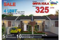 Rumah Baru, Strategis, Diskon 50 JT, Free Biaya, Pinggir JL RY Mangkang SMG