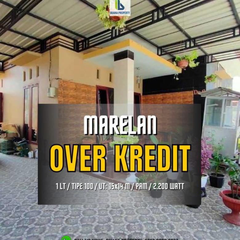 Rumah Over Kredit Dalam Komplek Marelan VI Psr II Timur Medan