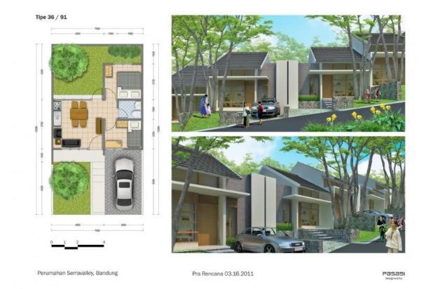 rumah murah cicilan flat bunga 0% daerah Setiabudi Bandung 15027503