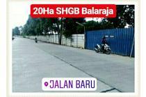 Tanah Industri Balaraja 20 HA Kab Tangerang Banten