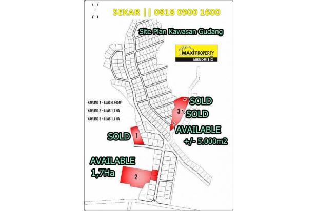 Rp32,3mily Tanah Dijual