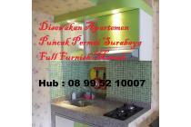 2 br Monthly Apart Puncak Permai Surabaya Full Furnish Mewah