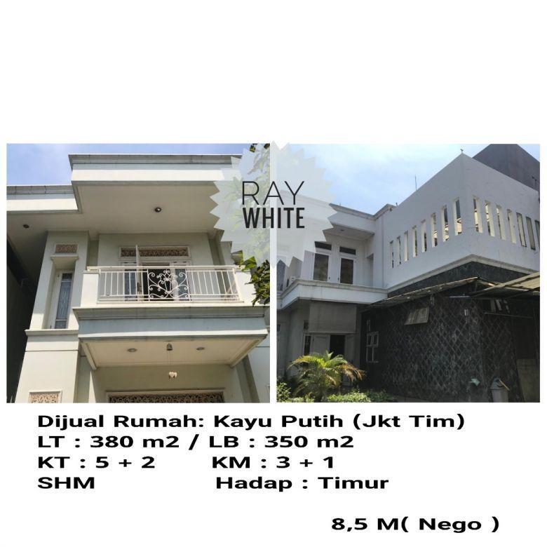 Dijual Rumah Kayu Putih, Jakarta Timur