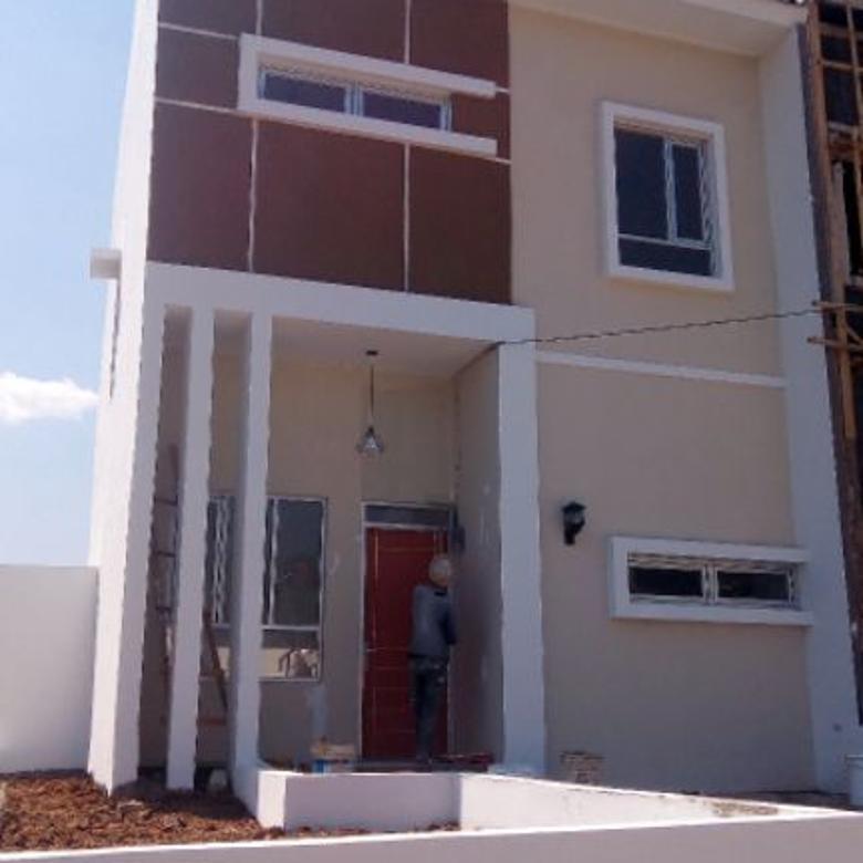 rumah 2 lantai di sariwangi dkt gegerkalong gratis biaya kpr