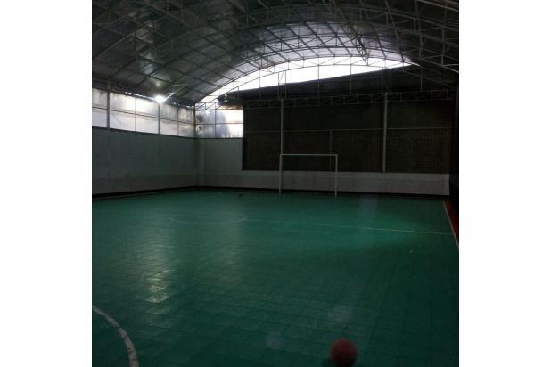ruang usaha lapang futsal income 8 juta bulan di lokasi mainroad antapani