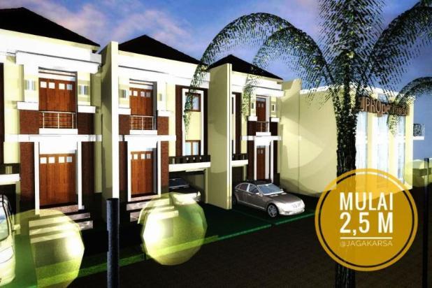 kecapi residence, cluster mewah pinggir jalan raya jagakarsa jak sel 17150378