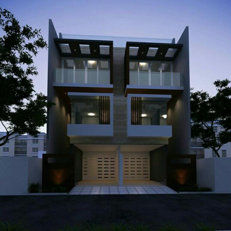 Jual rumah baru type modern minimalis hadap timur di duri kepa
