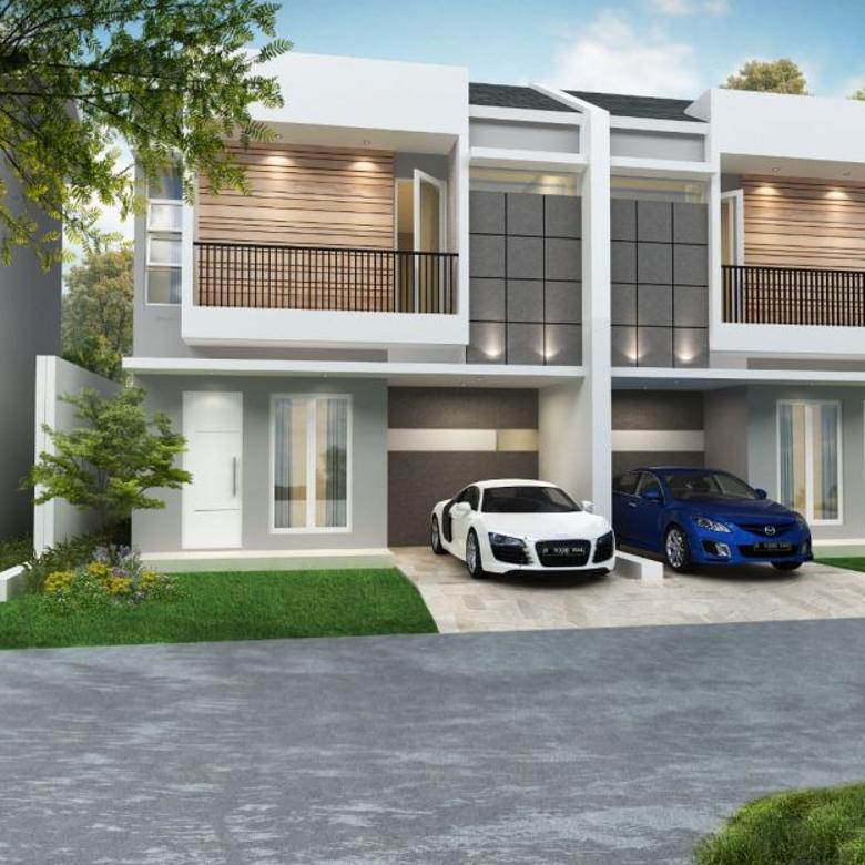 Rumah Cantik Mewah 2 Lantai Harga 780jta. Lokasi Depok Jawa Ba