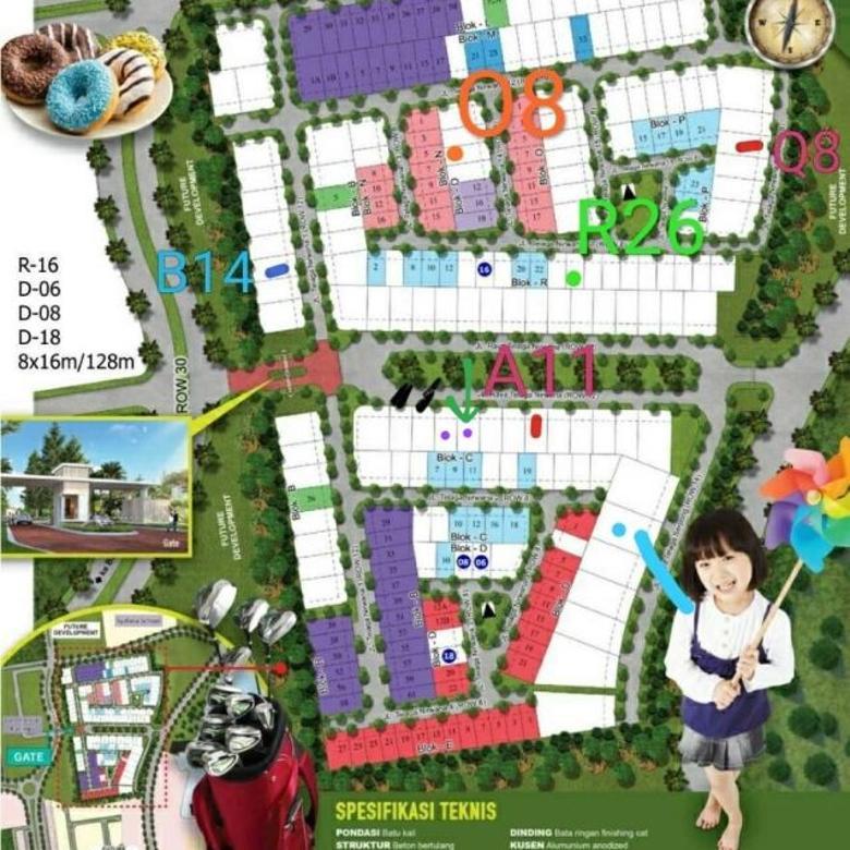Dijual Cepat Kavling Cluster Amalfi Village, Luas 200m2_(Jl)