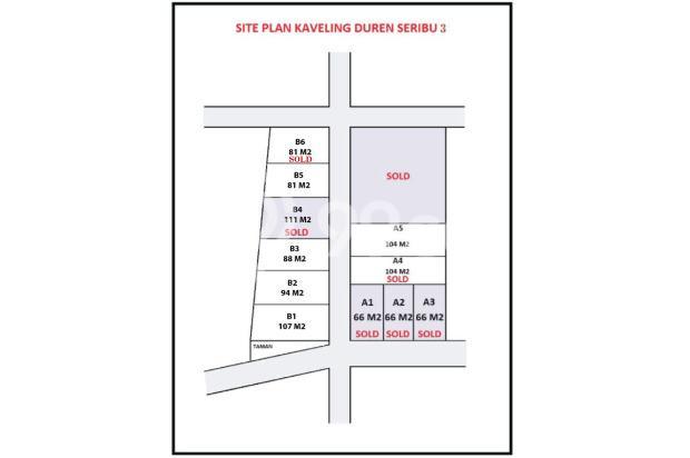 Green Arto Moro Duren Seribu, Depok, Bisa KPR Tanpa DP 17994861