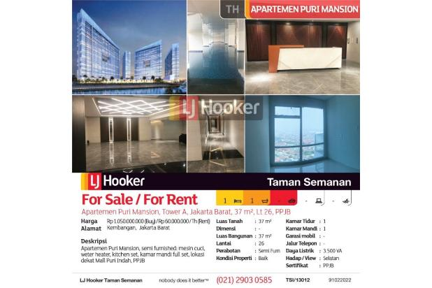 Rp1,05mily Apartemen Dijual