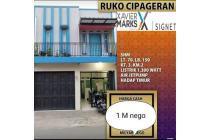 Ruko harga 1 M an saja di Cipageran Mainroad - Cimahi