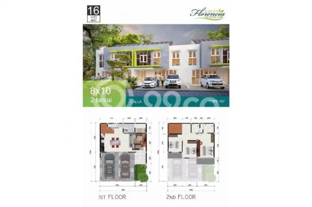 Rumah 3 lantai Green Florencia Aloha Gedangan dekat Bandara Juanda 300 jt * 12526257