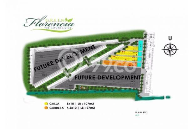 Rumah 3 lantai Green Florencia Aloha Gedangan dekat Bandara Juanda 300 jt * 12526258