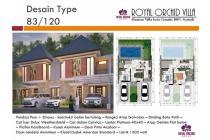Dijual Rumah Villa Minimalis Tipe 83/120 di Royal Orchid Villa, Cimahi