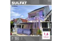 Rumah 2 Lantai Luas 98 di Taman Sulfat kota Malang _ 303.20