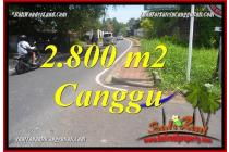 Tanah cantik view Link villa di Canggu Batu Bolong   CGA223