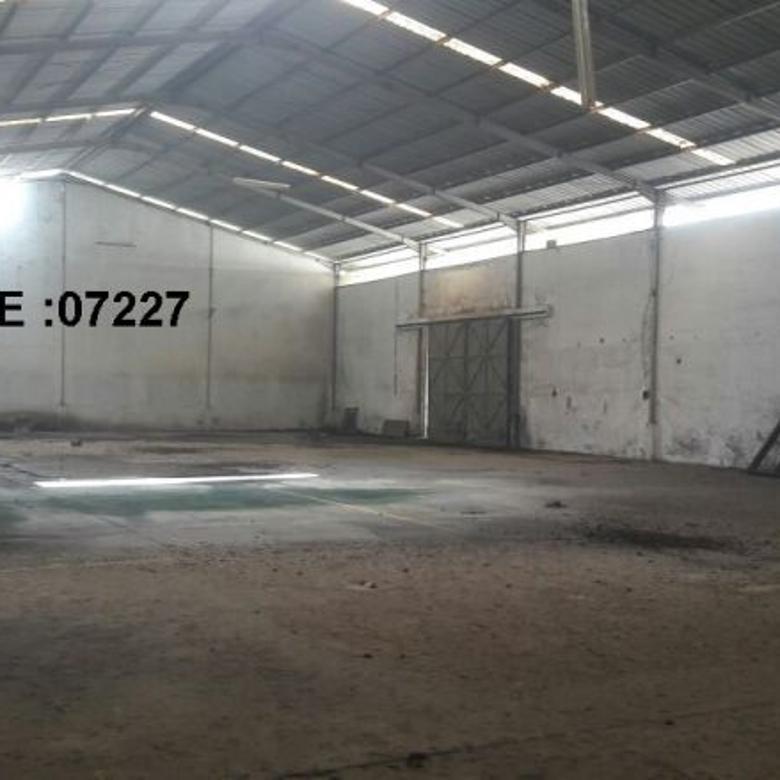 KODE :07227(Dv/Ir) Gudang Dijual Bogor, Luas 3113 Meter