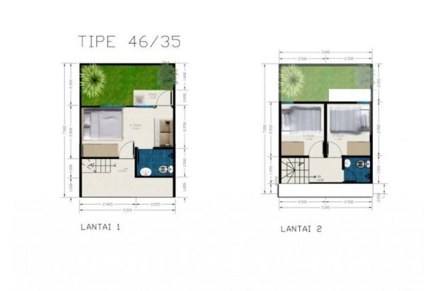 Cortes Townhouse @Jababeka Residence, Cikarang 12898548