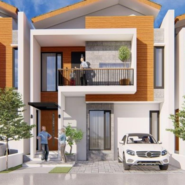 Cluster townhouse, unit baru, 5 mnt dr Gegerkalong