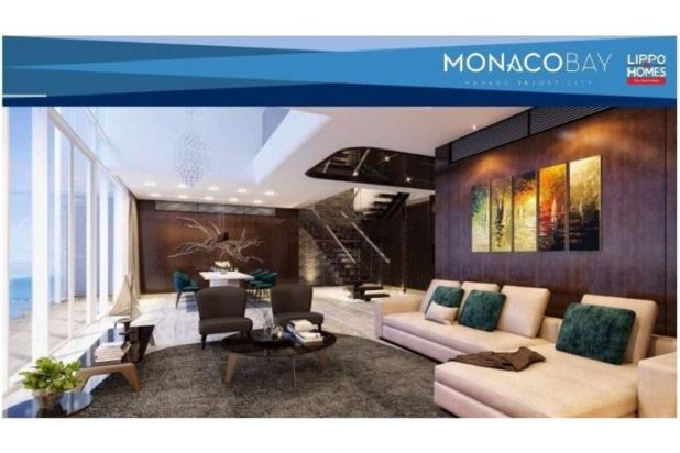 dijual apartemen monaco bay 1br lokasi strategis, monado