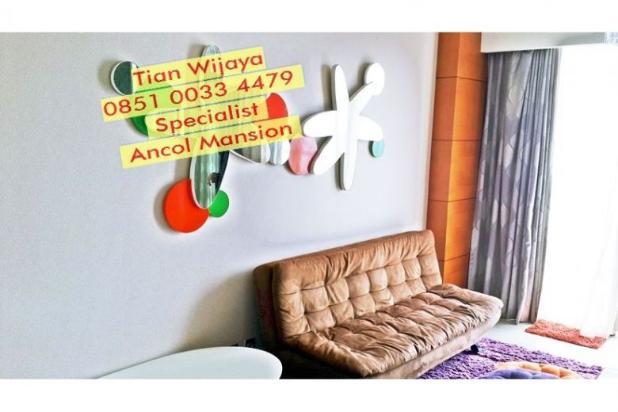 Disewakan bulanan Apartemen Ancol Mansion 67m2 View Laut ( Jarang Ada) 8877584