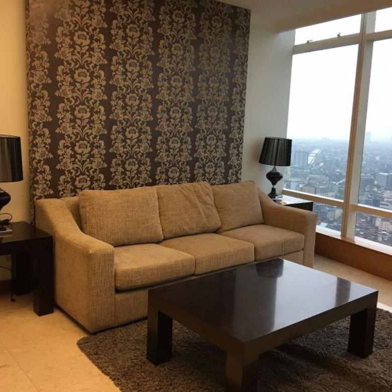 Jual Apartemen Kempinski Grand Indonesia 2BR Furnished Bagus