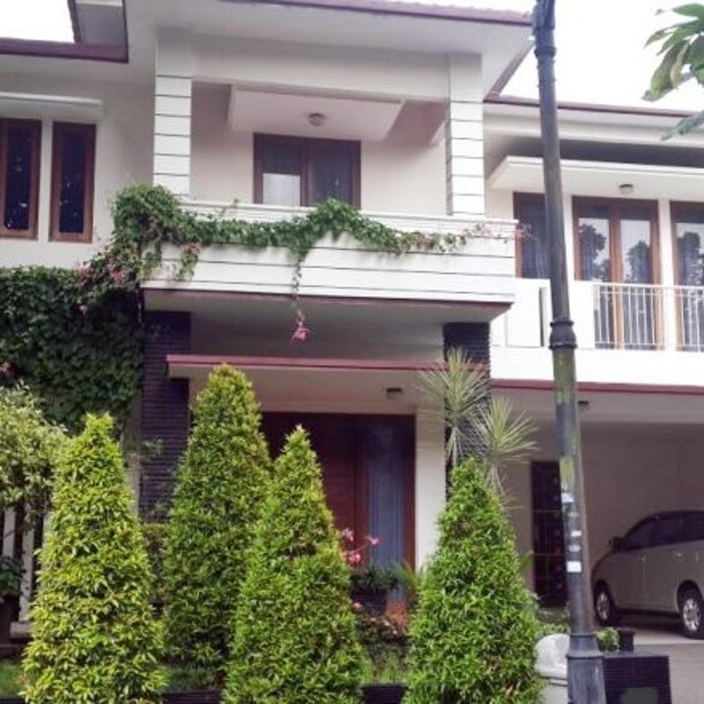 Rumah luas 2 lantai asri dan terawat Puri Bintaro Jaya