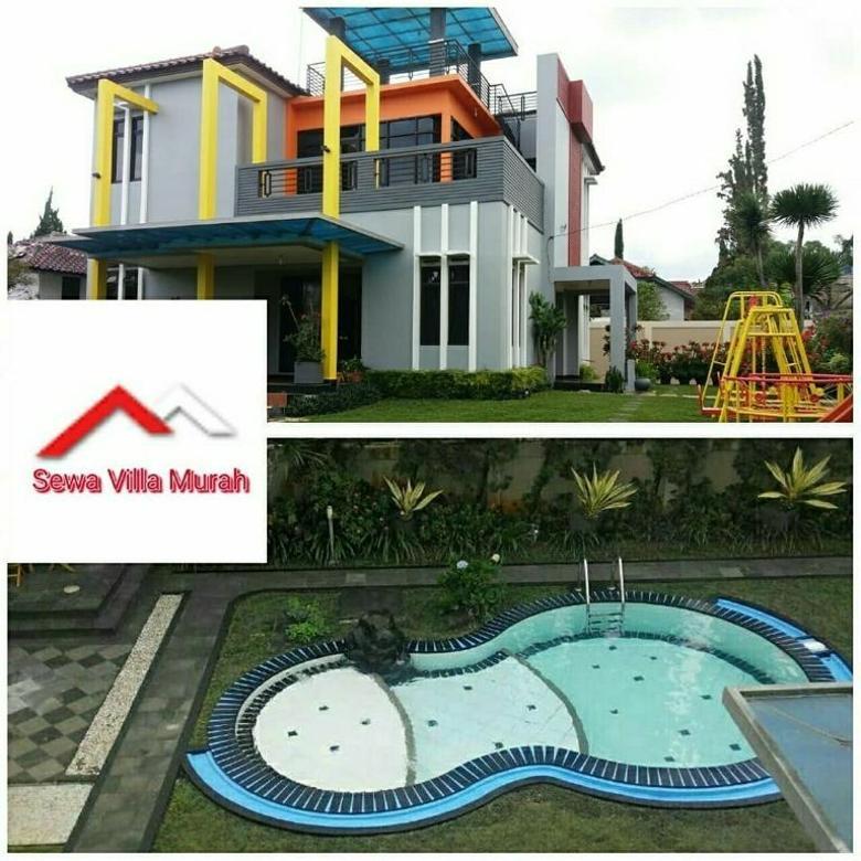 Villa cisarua Puncak bogor,3 kamar tidur,kolam renang private