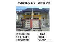Rumah Wonorejo Rungkut Gress Siap huni Luas Murah!!