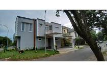 Rumah hoek siap huni di The Caspia, BSD Tangerang