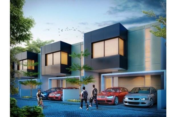 SERDAM kotamadya  Beltran Riverside Town house  2 lantai. 11376911