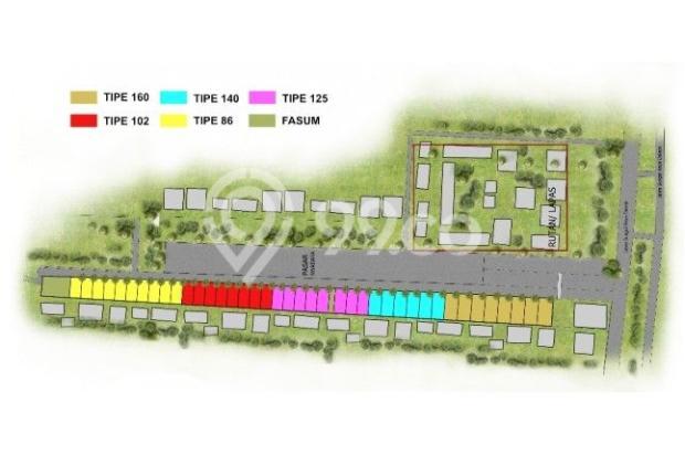 SERDAM kotamadya  Beltran Riverside Town house  2 lantai. 11376914