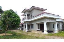 Rumah 2 Lantai+Tanah 950 m2 (9,5 tmbk) Jl.Pipa dekat Perum Sunderland Jambi