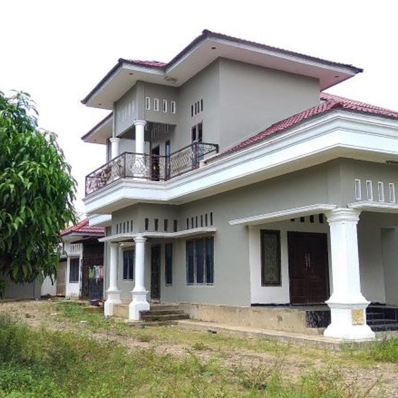 Rumah 2 Lantai+Tanah 950 m2(9,5 tmbk) Jl.Pipa Sunderland Jambi