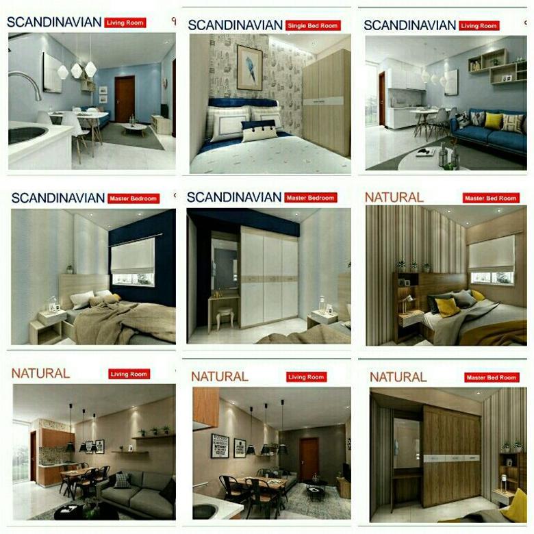 apartemen jakarta hanya bayar booking casablanca east residenc