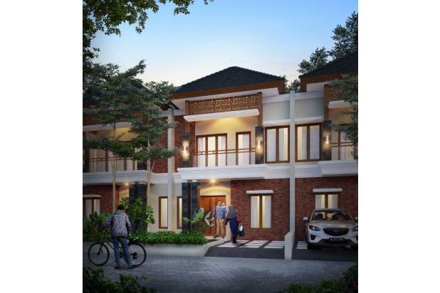 Rumah Cantik Tanah Luas 74/120m2 3kt 2km Dekat Stasiun di Sawangan Depok