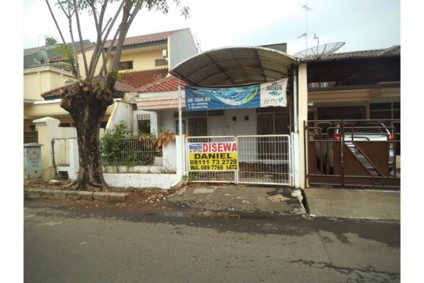 Disewakan Rumah Siap Huni Lokasi Permata Buana Uk.8x18m, 1Lantai 7608859