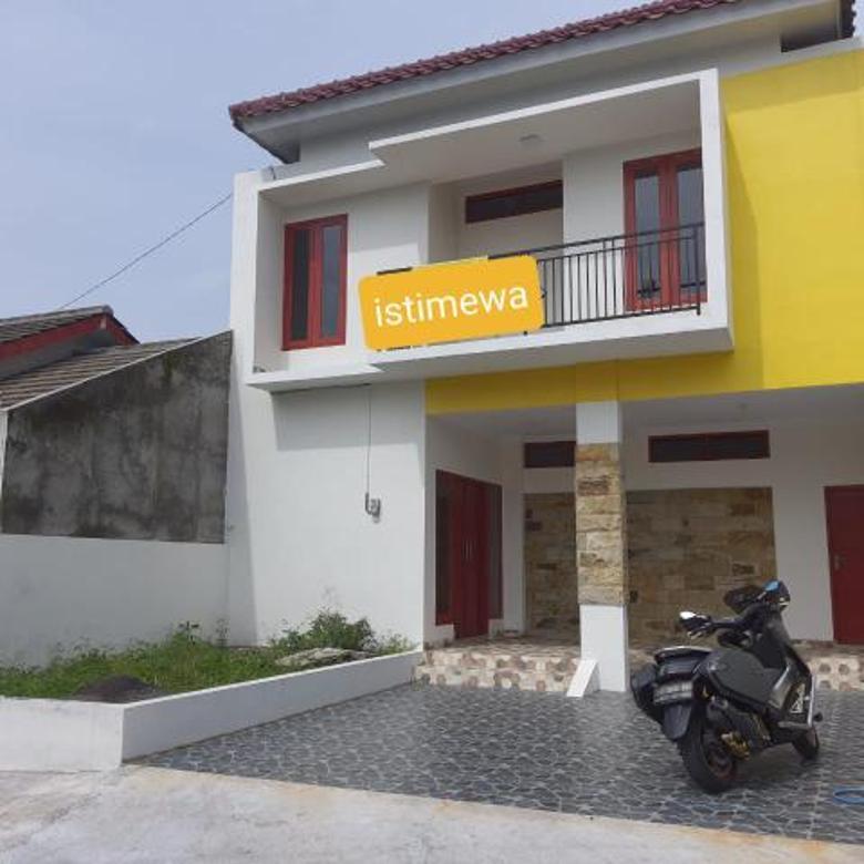 MURAH BANGET...! Rumah BARU MINIMALIS 2 Lantai dekat Kampus PPPG Kesenian Jalan Kaliurang km 12
