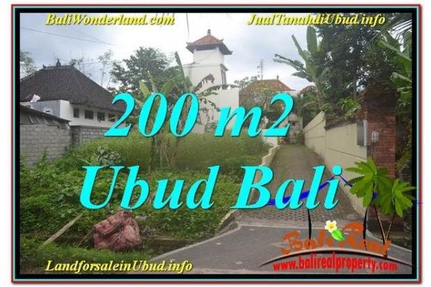 TANAH di UBUD BALI 200 m2 di Sentral / Ubud Center 19101722