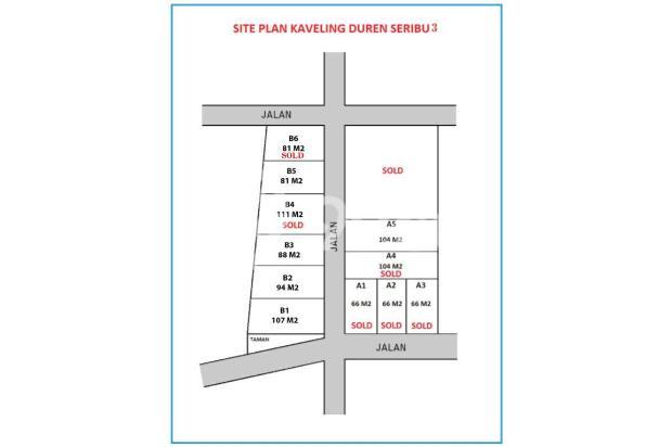 Kapling Perumahan, Duren Seribu, CASH TAHAP 12 KALI 16049026