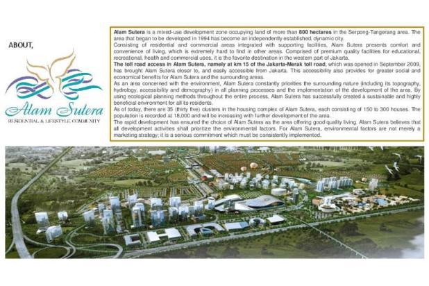 Dijual Apartemen Baru Murah di Pacific Garden Alam Sutera Tangerang 13167195