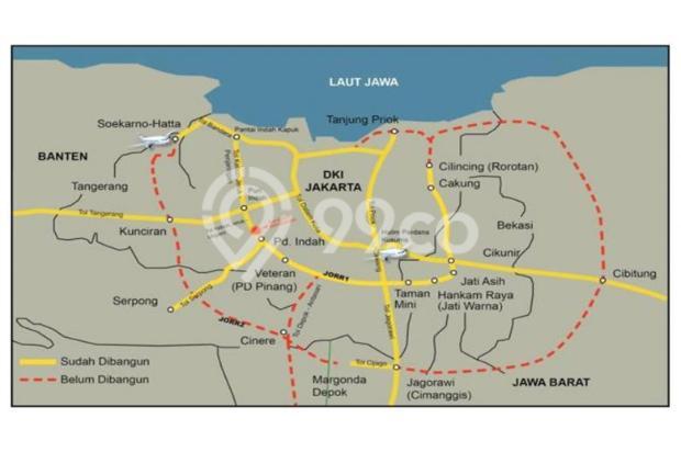 Dijual Apartemen Baru Murah di Pacific Garden Alam Sutera Tangerang 13167199