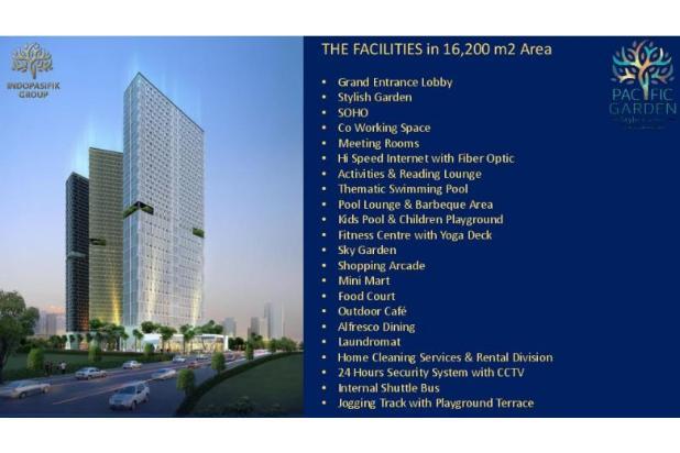 Dijual Apartemen Baru Murah di Pacific Garden Alam Sutera Tangerang 13167207