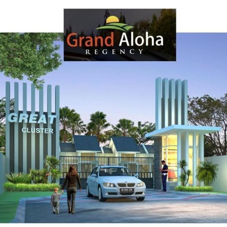 Rumah Harga Promo 513 Juta Grand Aloha Regency Sidoarjo