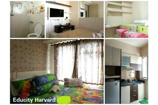 CITIHOME - Apartemen Educity Harvard Full Furnish 2Br View City 16845641