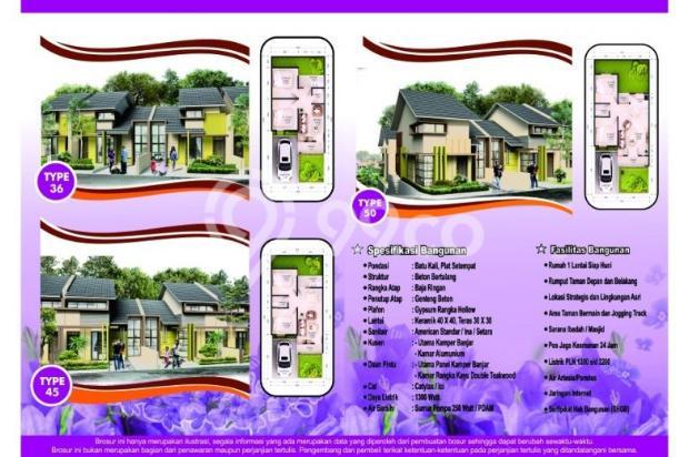 Jual Rumah Minimalis Cimahi Utara, Sejuk dan Strategis 400 Jutaan 12751855